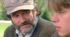 """Man..Robin Williams, I don't know why you did what you did, but in this one movie scene right here, you taught me a heck of a lot about life...""""So if I asked you about art, you'd probably give me the skinny on every art book ever written...If I ask you about women, you'd probably give me a syllabus about your personal favorites...You don't know about real loss, 'cause it only occurs when you've loved something more than you love yourself. And I doubt you've ever dared to love anybody that…"""