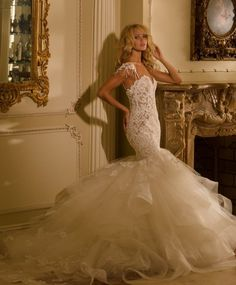 Glamorous Wedding Dresses with Couture Details | Eve Of Milady, Glamorous Wedding Dresses and Couture Details