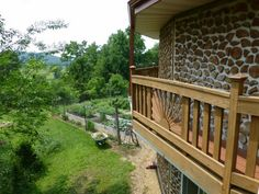 balcony ideas wood railing homes