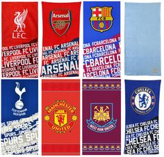 Official football club towels man utd liverpool #spurs #arsenal #chelsea barcelon,  View more on the LINK: 	http://www.zeppy.io/product/gb/2/182204587454/