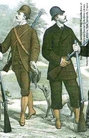 Hunting suits of the 1870's
