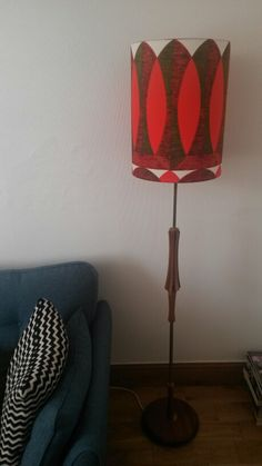 Very happy with the new lamp stand and shade we got today, looks great in our living room. Now time to get a shelving unit for the graphic novels. Got it from www.facebook.com/Snyggstyle