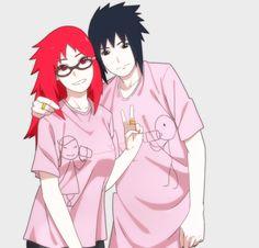 Image about naruto in Sasukarin ❤ by Anime Naruto, Naruto Girls, Naruto Minato, Naruto Couples, Itachi, Anime Couples, Cute Couples, Boruto, Narusaku