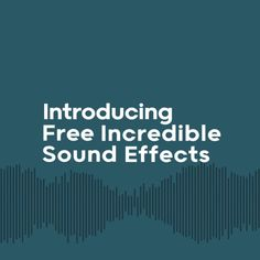 Our friends at @mixkit have just added another 3,000 reasons to check out #Mixkit. Introducing our free incredible Sound Effects Library! From swooshes and wooshes to dogs barking and birds chirping, we have a free sound that's perfect for your commercial and personal projects. Explore the curated library and download your next sound for free.