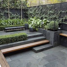 Design Small City Garden In Kensington London Designed By Award Smallgarden – Modern Garden Small City Garden, Small Garden Design, Urban Garden Design, Really Small Garden Ideas, House Garden Design, Small Back Gardens, Corner Garden, Contemporary Garden Design, Landscape Design