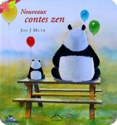 Nouveaux contes zen, texte et illustrations de Jon J Muth, publié en 2008 par les éditions Circonflexe