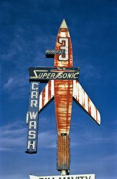 Supersonic Car Wash, Billings, Montana, 1980