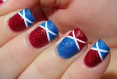 Dipped in Lacquer: Zoya PixieDust Patriotic NOTD