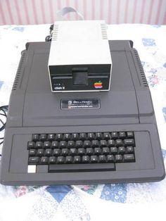 """Bell and Howell Black Apple+ Computer (Back Pack Model) """"Darth Vader Model""""."""