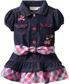 Carter's Watch the Wear Baby-girls Infant Denim Dress With Cherries and Striped Belt, Dark Denim, 12 Months Carter's Watch the Wear,http://rcm.amazon.com/e/cm?lt1=_blank=000000=1=FFFFFF=000000=0000FF=virgisheri-20