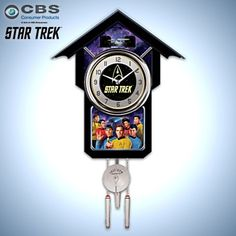 Star Trek Cuckoo Clock - detail 1