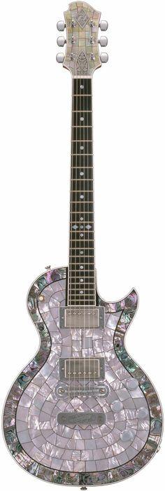 Alden Zemaitis Abalone Inlay Paul Guitar