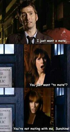 Day 28. Character You Are Most Like: Steven says Donna Noble lol