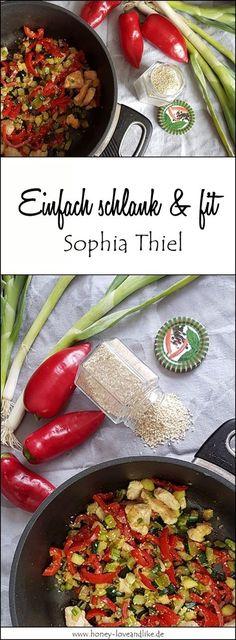 Ich hab sie nachgekocht, die Asia-Putenpfanne nach Sophia Thiel aus dem Einfach Schlank und Fit Kochbuch