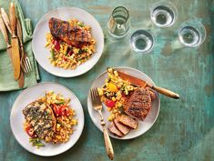 Monday Night Dinner Recipes is One Of Favorite Dinner Recipes Of Several People Round the World. Besides Easy to Make and Excellent Taste, This Monday Night Dinner Recipes Also Health Indeed. Rice Recipes, Pork Recipes, Grilling Recipes, Cooking Recipes, Night Dinner Recipes, Dinner Ideas, Whole Grain Foods, Easy Summer Dinners, Lime Rice