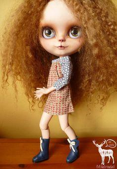 NALA : Blythe Doll lion queen animal custom girl by FifiandBlythe
