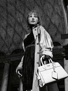 Jessica Chastain by Willy Vanderperre for Prada Resort 2017 Campaign