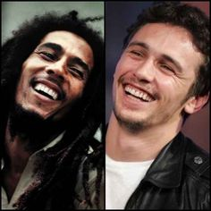 How much James Franco and Bob Marley look alike. | 26 Things You Probably Never Noticed That Will Blow Your Mind