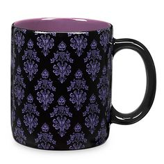 [The awakening]Your home will be filled to the brim with rising spirits after a bewitching morning brew from our oversized hot beverage mug with wicked Haunted Mansion wallpaper design.