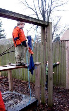Up the Down Slide, Children Assessing Their Own Risk