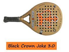 La pala BLACK CROWN JOKE 3.O tiene un magnifico diseño y estupendos colores, crudo y naranja sobresalen y resaltan. Con ella te lucirás en las pistas,