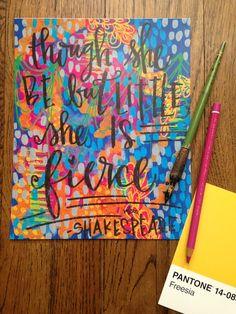 Valerie weiners shakespeare print