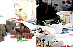 Cherries... Chocolate... Mint... Ice cream... Simply delicous!