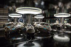 Interstellar Glitz: Designing the 'Passengers' Starship, Inside and Out