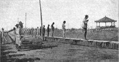 Retouched photo of Spanish soldiers executing Filipinos on the Luneta, ca War, Emilio Aguinaldo, Fort Santiago, Jose Rizal, The Spanish American War, Filipino Culture, Bataan, Spanish Colonial, Philippines, Spain