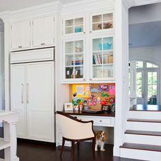 kitchen desk marble table for sale 60 best desks images office nook stairs