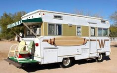 The Trailorboat camper, on the opposite hand, had an individual roof under the boat. And then we moved into our very first camper. Thus, you own a trailer you w. Caravan Vintage, Vintage Motorhome, Vintage Travel Trailers, Vintage Airstream, Retro Campers, Cool Campers, Camper Trailers, Vintage Campers, Retro Rv