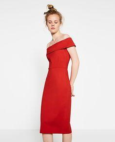 MID-LENGTH TUBE DRESS-Maxi-DRESSES-WOMAN   ZARA United States