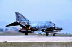F-4E 01534 337 MIRA at Larissa airbase April 1996.
