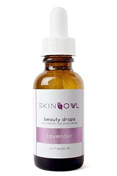 Skin Owl - Organic / Raw Lavender Beauty Drops (Combats Inflammation, Acne