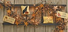 Fall Decor Feature - Kruenpeeper Creek Country Gifts