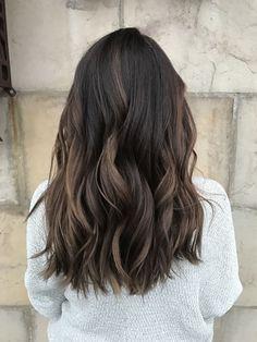 """Résultat de recherche d'images pour """"balayage sur cheveux asiatiques"""""""