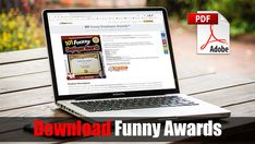 Funny Employee Awards | Humorous Award Certificates for Employees, Staff, and The Office Fun Awards For Employees, Employee Awards, Funny Certificates, Award Certificates, Recognition Awards, Employee Recognition, Teacher Awards, Staff Morale, Award Template