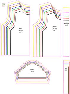 Free patterns. This one is for kids t-shirts