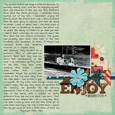 Anchor's Away by Mari Koegelenberg Font: DJB Betsy Print from Journaler's Toolbox by Darcy Baldwin ***Part of the June Scrap Pack at Scrap Stacks*** Scrapbook Journal, Scrapbook Sketches, Travel Scrapbook, My Scrapbook, Scrapbook Paper Crafts, Scrapbooking Layouts, Paper Crafting, Photo Layouts, My Memory