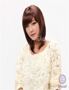 SHORT STRIGHT SYNTHETIC WIGS WHOLESALE