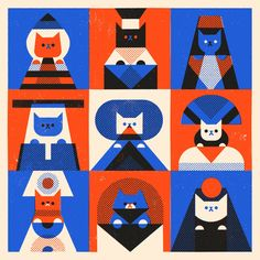 #cats nine lives #illustration
