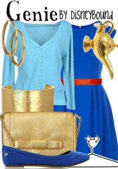 Genie - DisneyBound