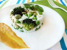 Ensalada de arroz y verduritas » Divina CocinaRecetas fáciles, cocina andaluza y del mundo. » Divina Cocina