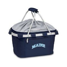 Picnic Time 3-Gallon Maine Black Bears Polyester Personal Cooler 645-0
