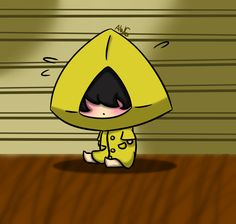 I'm starting to like the game Little Nightmares more and more Six is really cute, I love them ((I saw a vid saying that they're a girl but im not sure. Little Nightmares: Lil Six Little Nightmares Fanart, Never Dead, Cute Pins, Indie Games, Cool Drawings, Horror, Fan Art, Videogames, Nom Nom