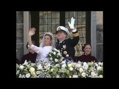 ▶ Huwelijk Prins van Oranje en Máxima Zorreguieta: balkonscène - YouTube