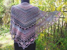 Ying-hua Shawl ~ free pattern ᛡ