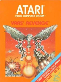 Atari Yars Revenge 1970's. My mom loved this game.