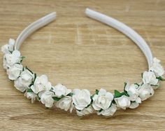 Browse unique items from Designsbygrg on Etsy, a global marketplace of handmade, vintage and creative goods. Flower Crowns, More Cute, Floral Flowers, Things To Come, Etsy Shop, Unique Jewelry, Creative, Handmade Gifts, Vintage