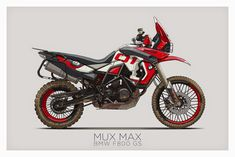 ART&DESIGN: BMW F800GS Motorcycle Illustration - by Ian Galvin